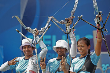 Dola Banerjee 19th Commonwealth Games - Day 5: Archery