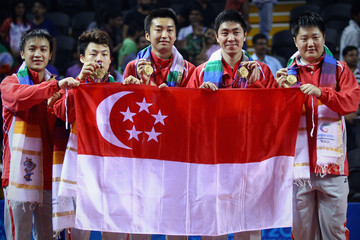 Xue Jie Pang 19th Commonwealth Games - Day 6: Table Tennis