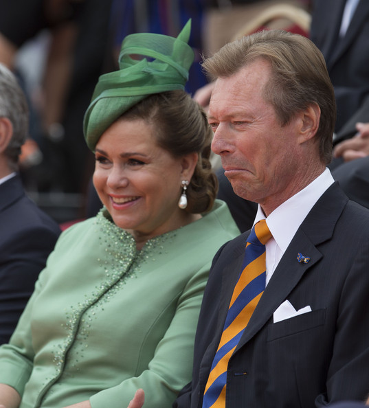 Grand Duchess Maria Teresa of Luxembourg and Grand Duke Henri of Luxembourg attend celebrations marking the 200th anniversary of the kingdom of The Netherlands on August 30, 2014 in Maastricht, The Netherlands.