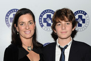 Mary Richardson Kennedy and Conor Kennedy attend the 2009 Annual Food Allergy Ball at The Waldorf Astoria on December 7, 2009 in New York City.