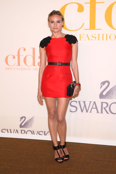 Diane Kruger Model Diane Kruger  attends the 2009 CFDA Fashion Awards at Alice Tully Hall, Lincoln Center on June 15, 2009 in New York City.