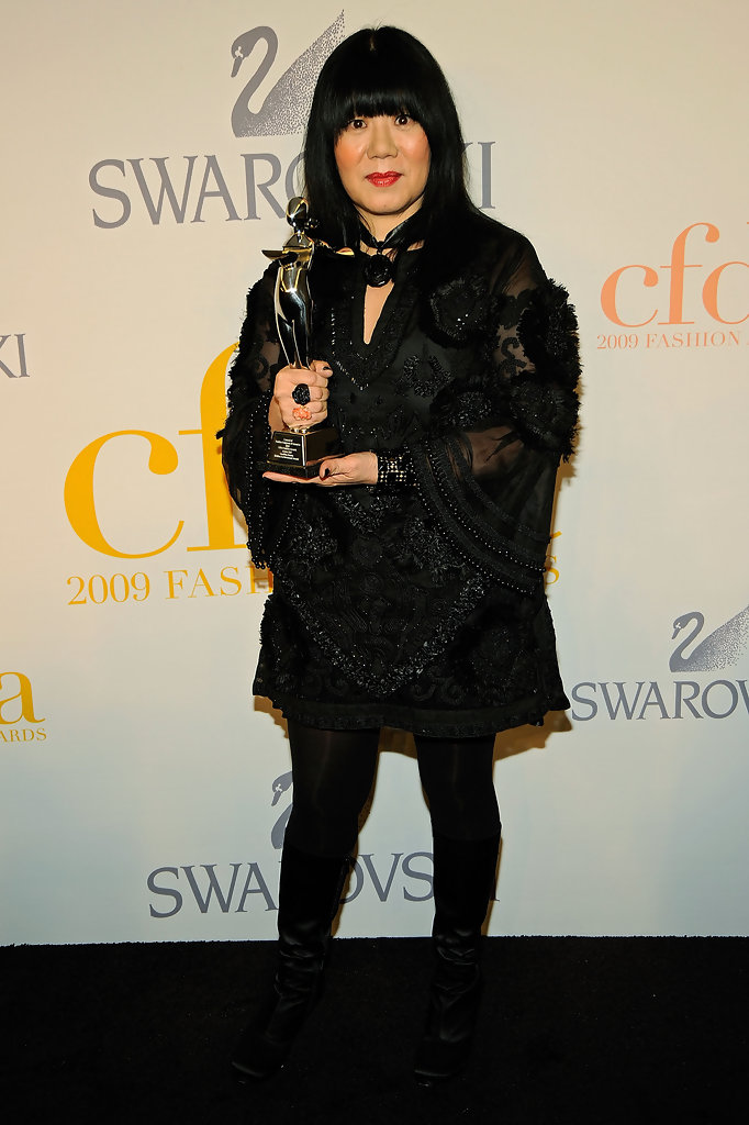Anna Sui Fall Winter 2014 2015 New Women S Clothing Styles: 2009 CFDA Fashion Awards