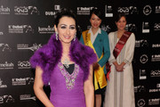 """Haifa Hussein attends the """"Budrus"""" premiere during day five of the 6th Annual Dubai International Film Festival held at the Madinat Jumeriah Complex on December 13, 2009 in Dubai, United Arab Emirates."""