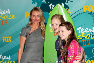 Cameron Diaz Abigail Breslin 2009 Teen Choice Awards - Press Room