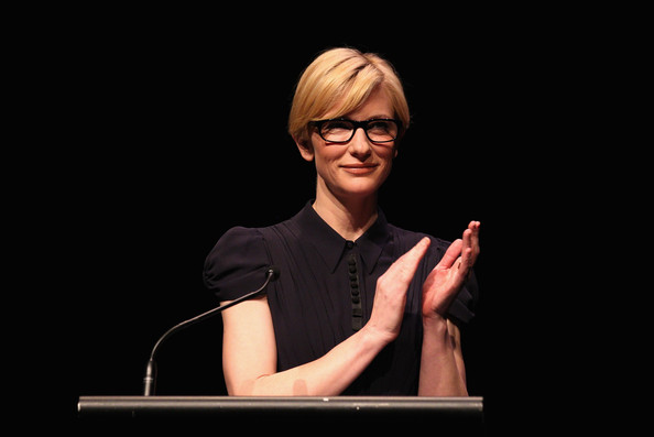 Cate Blanchett speaks during the nominations announcement of the 2010 Samsung Mobile AFI Awards at Sydney Theatre on October 27, 2010 in Sydney, Australia.