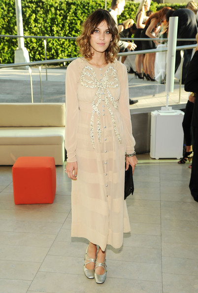 Alexa Chung attends the 2010 CFDA Fashion Awards at Alice Tully Hall, Lincoln Center on June 7, 2010 in New York City.