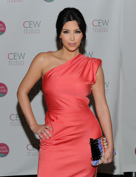 Television personality Kim Kardashian attends the 2010 Cosmetic Executive Women Beauty Awards at The Waldorf Astoria on May 21, 2010 in New York City.