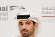 """Director Abdulla Al Kaabi attends """"The Philosopher"""" press conference during day six of the 7th Annual Dubai International Film Festival held at the Madinat Jumeriah Complex on December 17, 2010 in Dubai, United Arab Emirates."""