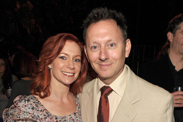 Michael Emerson Carrie Preston The 2010 Entertainment Weekly and Women In Film Pre-Emmy Party - Inside
