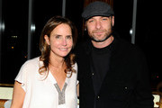 Katie Ford and actor Liev Schreiber attend the 2010 Free the Slave benefit at The Top of The Standard on October 20, 2010 in New York City.