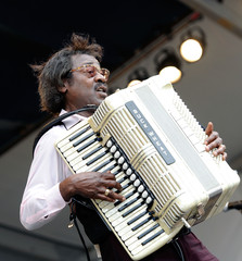 Buckwheat Zydeco 2010 New Orleans Jazz & Heritage Festival Presented By Shell - Day 5