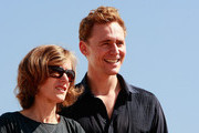 Director Joanna Hogg and actor Tom Hiddleston of England attend a Audience Meet and Greet 'European Film Promotion (EFP)' at the Haeundae beach during the 15th Pusan International Film Festival (PIFF) on October 10, 2010 in Busan, South Korea. The biggest film festival in Asia showcases 306 films from 67 countries and runs from October 7-15.