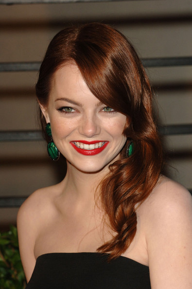 Emma Stone Actress Emma Stone arrives at the 2010 Vanity Fair Oscar Party hosted by Graydon Carter held at Sunset Tower on March 7, 2010 in West Hollywood, California.