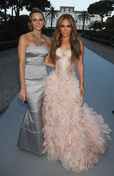 Charlene Wittstock Charlene Wittstock and Jennifer Lopez arrives at amfAR's Cinema Against AIDS 2010 benefit gala at the Hotel du Cap on May 20, 2010 in Antibes, France.