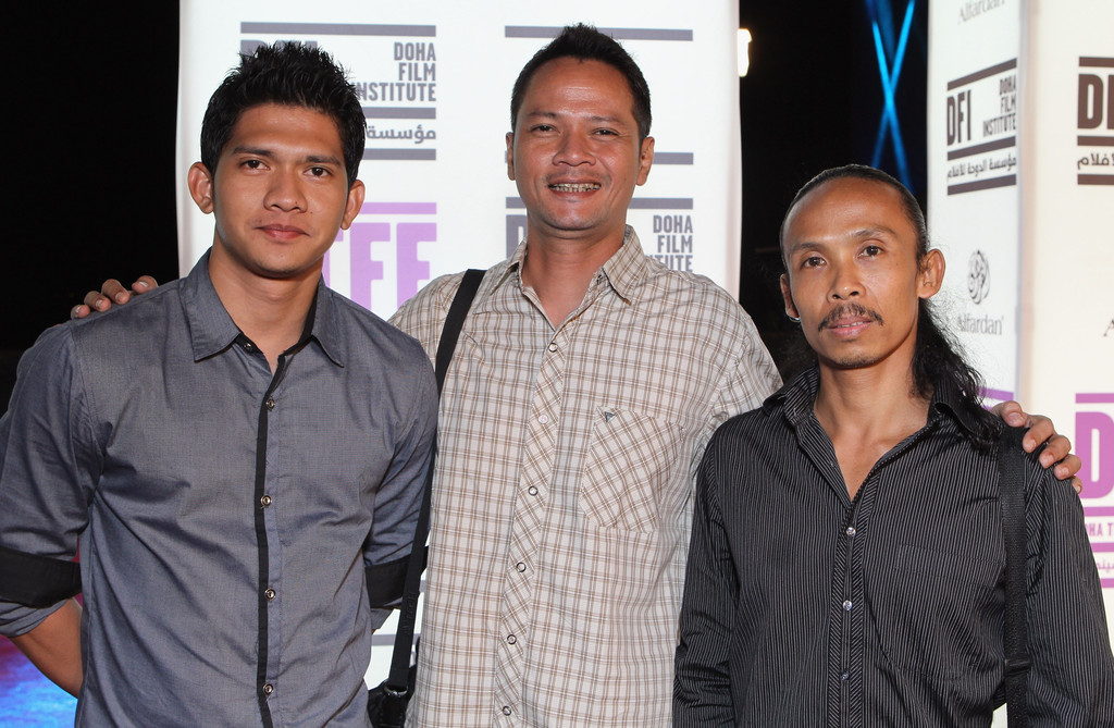 yayan ruhian and iko uwais