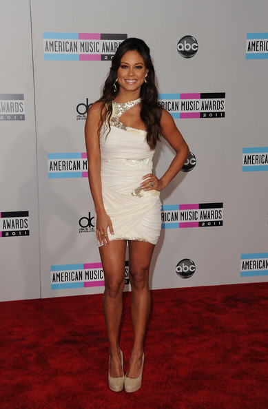 TV Personality Vanessa Lachey arrives at the 2011 American Music Awards held at Nokia Theatre L.A. LIVE on November 20, 2011 in Los Angeles, California.