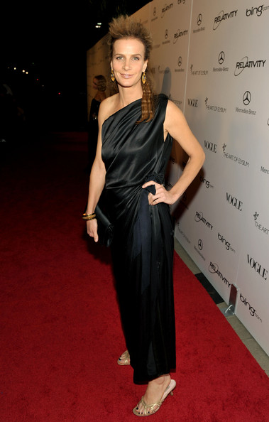 "Actress Rachel Griffiths arrives at the 2011 Art Of Elysium ""Heaven"" Gala held at the California Science Center on January 15, 2011 in Los Angeles, California."