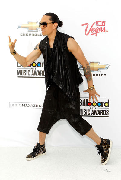 Rapper Taboo of the Black Eyed Peas arrives at the 2011 Billboard Music Awards at the MGM Grand Garden Arena May 22, 2011 in Las Vegas, Nevada.