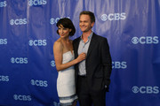 Actors Cobie Smulders (L) and Neil Patrick Harris attend the 2011 CBS Upfront at The Tent at Lincoln Center on May 18, 2011 in New York City.