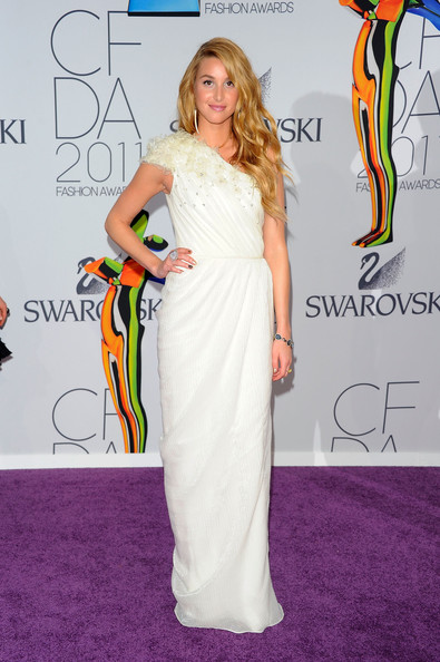 Whitney Port attends the 2011 CFDA Fashion Awards at Alice Tully Hall, Lincoln Center on June 6, 2011 in New York City.