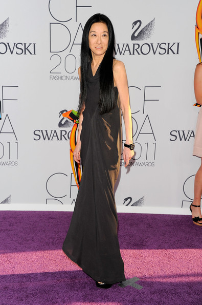 Designer Vera Wang attends the 2011 CFDA Fashion Awards at Alice Tully Hall, Lincoln Center on June 6, 2011 in New York City.