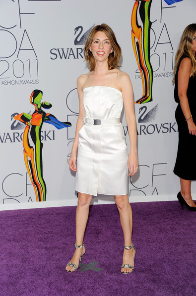 Director Sofia Coppola attends the 2011 CFDA Fashion Awards at Alice Tully Hall, Lincoln Center on June 6, 2011 in New York City.