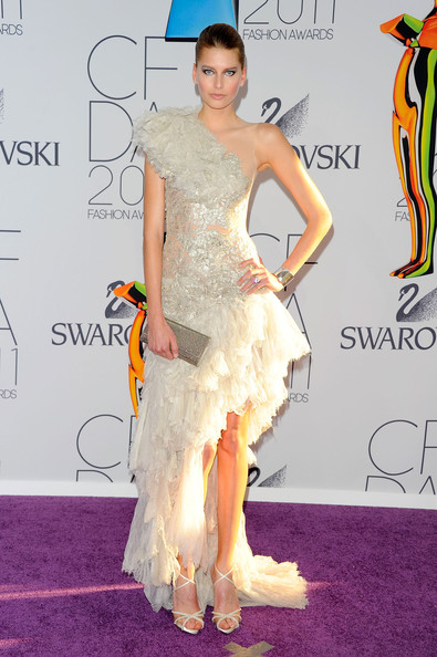 Hana Soukupova attends the 2011 CFDA Fashion Awards at Alice Tully Hall, Lincoln Center on June 6, 2011 in New York City.