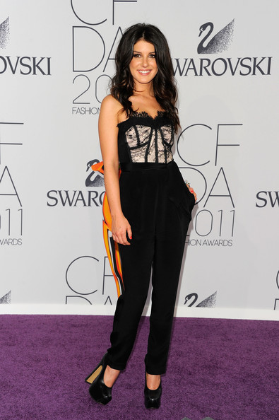 Shenae Grimes attends the 2011 CFDA Fashion Awards at Alice Tully Hall, Lincoln Center on June 6, 2011 in New York City.