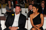 Coty SVP of Global Marketing Steve Mormoris and Halle Berry attend the 2011 FiFi Awards at The Tent at Lincoln Center on May 25, 2011 in New York City.