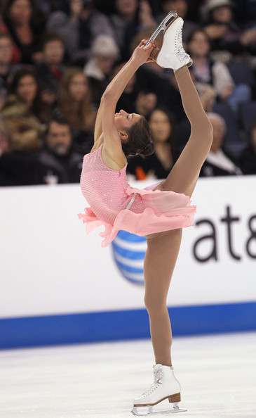 Alissa Czisny performs during the Ladies Short Program during Hilton HHonors Skate America at Citizens Business Bank Arena on October 22, 2011 in Ontario, California.