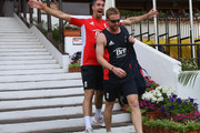 Kevin Pietersen and Paul Collingwood Photos Photo