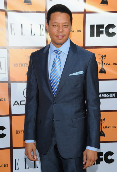 Actor Terrence Howard arrive to the 2011 Independent Spirit Awards Filmmaker Grant and Nominee Brunch on January 15, 2011 in Los Angeles, California.