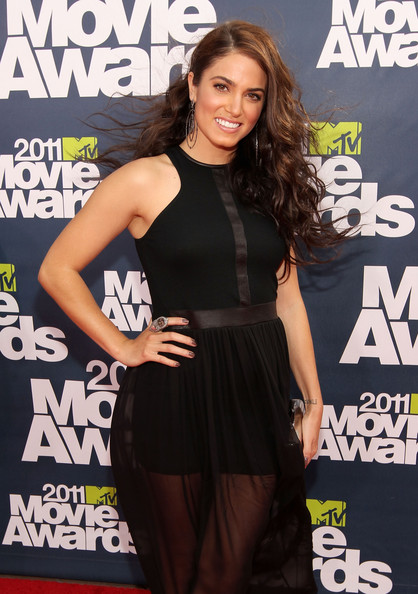 Actress Nikki Reed arrives at the 2011 MTV Movie Awards at Universal Studios' Gibson Amphitheatre on June 5, 2011 in Universal City, California.