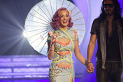 Katy Perry and Russell Brand Photos Photo