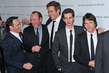 Andrew Garfield Jesse Eisenberg 2011 National Board of Review of Motion Pictures Gala - Outside Arrivals