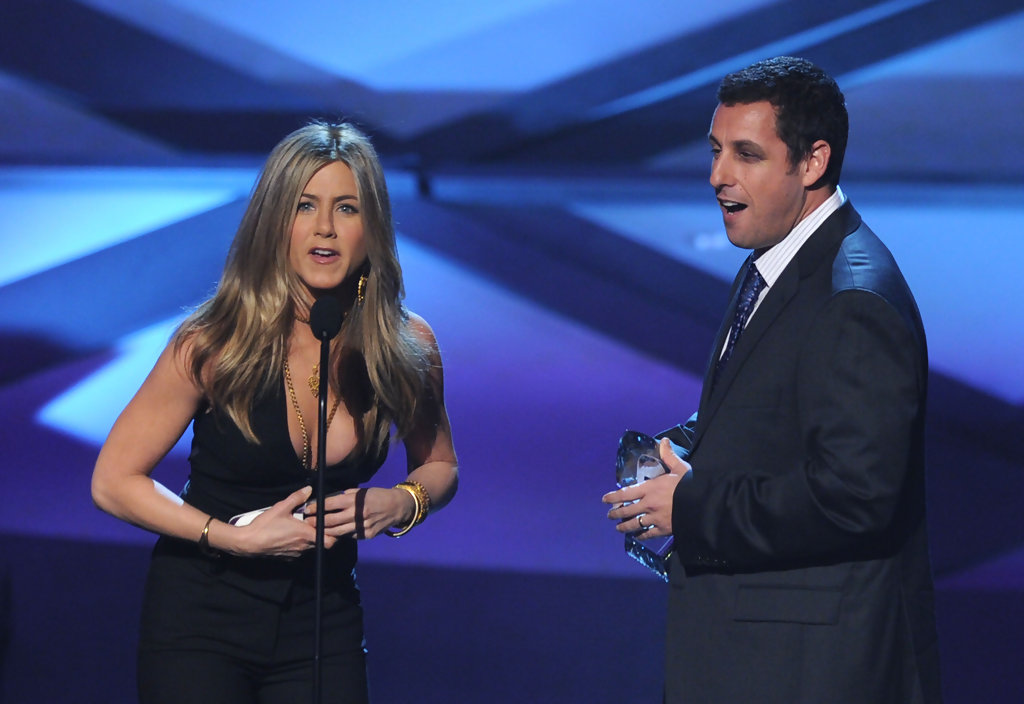 Adam Sandler and Jennifer Aniston Photos Photos - 2011