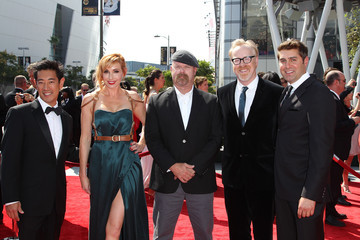 Tory Belleci 2011 Primetime Creative Arts Emmy Awards - Arrivals