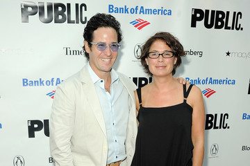 Rob Morrow Maura Tierney 2011 Shakespeare In The Park Gala