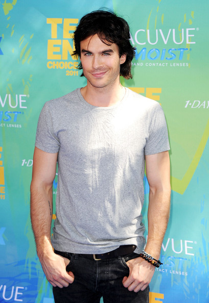 Actor Ian Somerhalder arrives at the 2011 Teen Choice Awards held at the Gibson Amphitheatre on August 7, 2011 in Universal City, California.