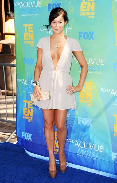 Actress Alexa Vega arrives at the 2011 Teen Choice Awards held at the Gibson Amphitheatre on August 7, 2011 in Universal City, California.