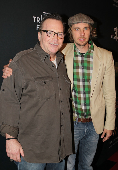 Photo of Tom Arnold & his friend  Dax Shepard