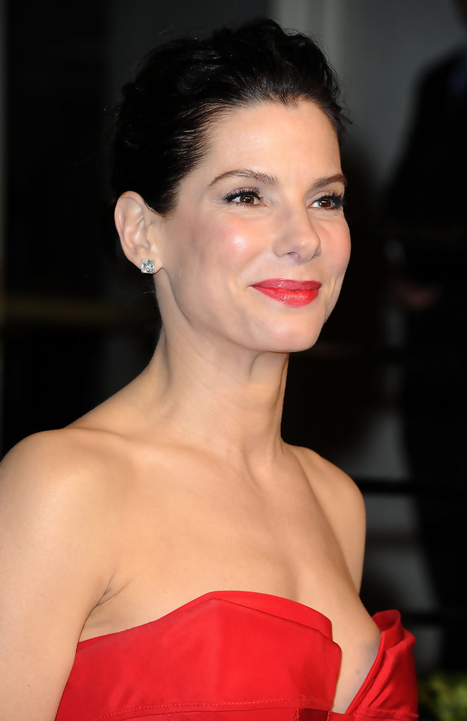 Sandra Bullock in 2011 Vanity Fair Oscar Party Hosted By ...
