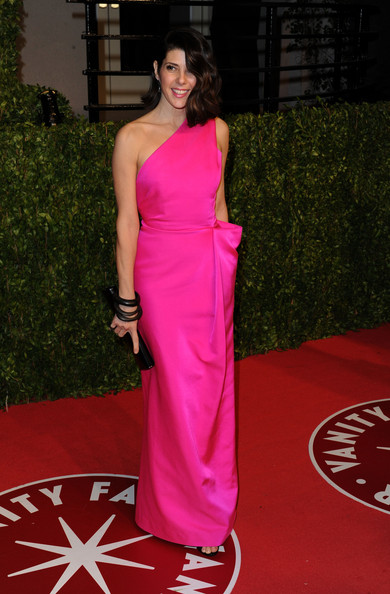 Actress Marisa Tomei arrives at the Vanity Fair Oscar party hosted by Graydon Carter held at Sunset Tower on February 27, 2011 in West Hollywood, California.