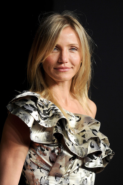 Actress Cameron Diaz arrives at the Vanity Fair Oscar party hosted by Graydon Carter held at Sunset Tower on February 27, 2011 in West Hollywood, California.