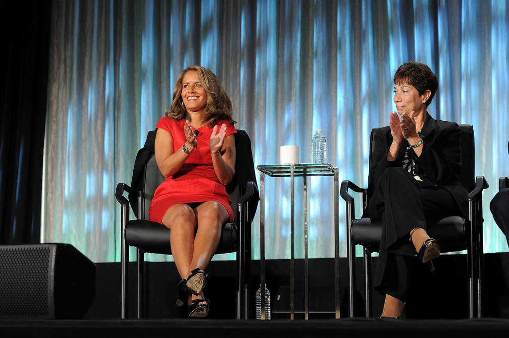 NBC news reporter Suzanne Malveaux in 2011 WICT Leadership Conference