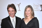 Catherine O'Hara and Martin Short arrive at the 2011 Writers Guild Awards at Renaissance Hollywood Hotel on February 5, 2011 in Hollywood, California.