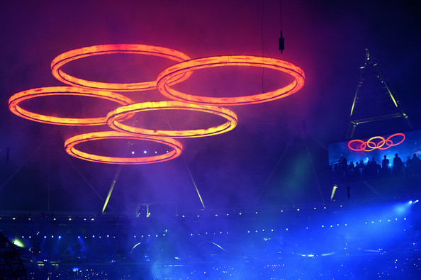 2012 Olympic ceremony rings