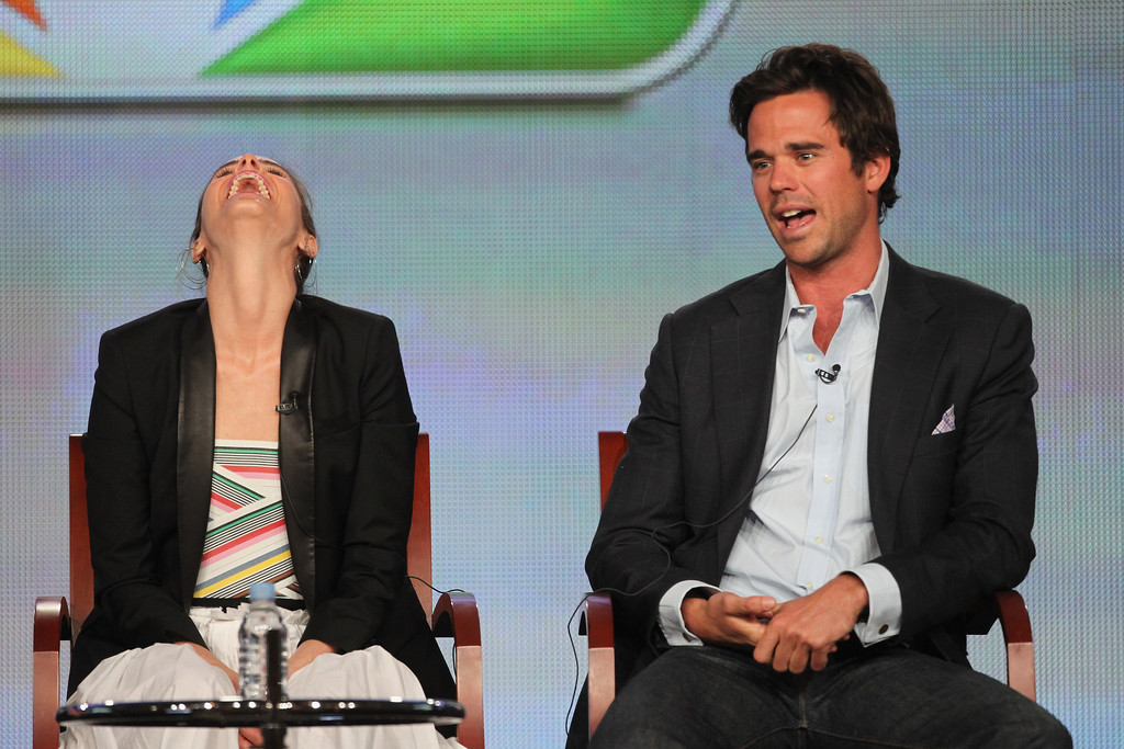 David Walton (actor) Winter TCA Tour Day