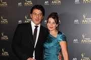 Diana Glenn and Vince Colosimo arrive at the 2012 AACTA awards at the Sydney Opera House on January 31, 2012 in Sydney, Australia.