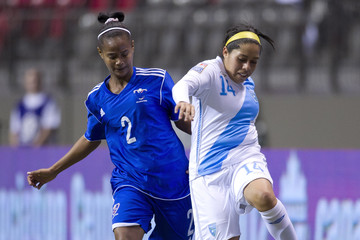 Kimberly De Leon 2012 CONCACAF Women's Olympic Qualifying - Guatemala v Dominican Republic